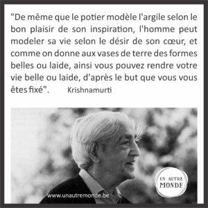 Citation De Krishnamurti Yves Alie